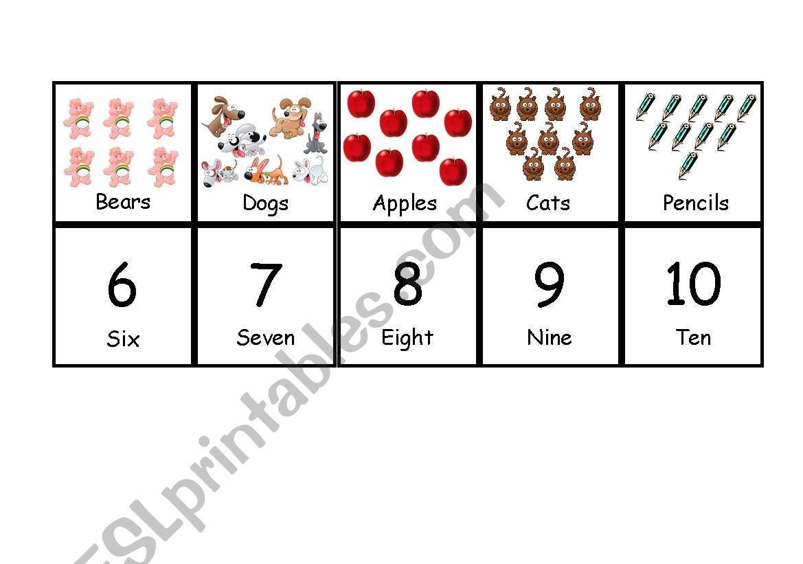 Numbers Memory Game