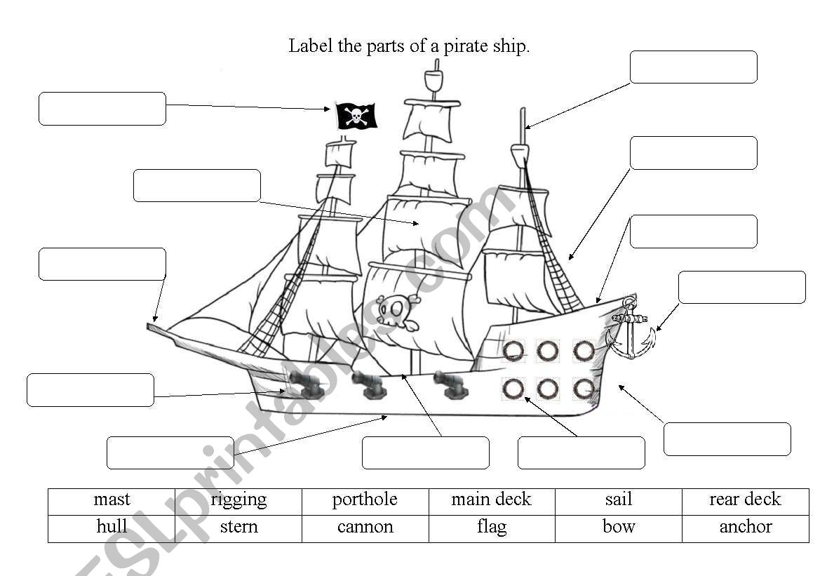 Label Parts Of A Book Worksheet