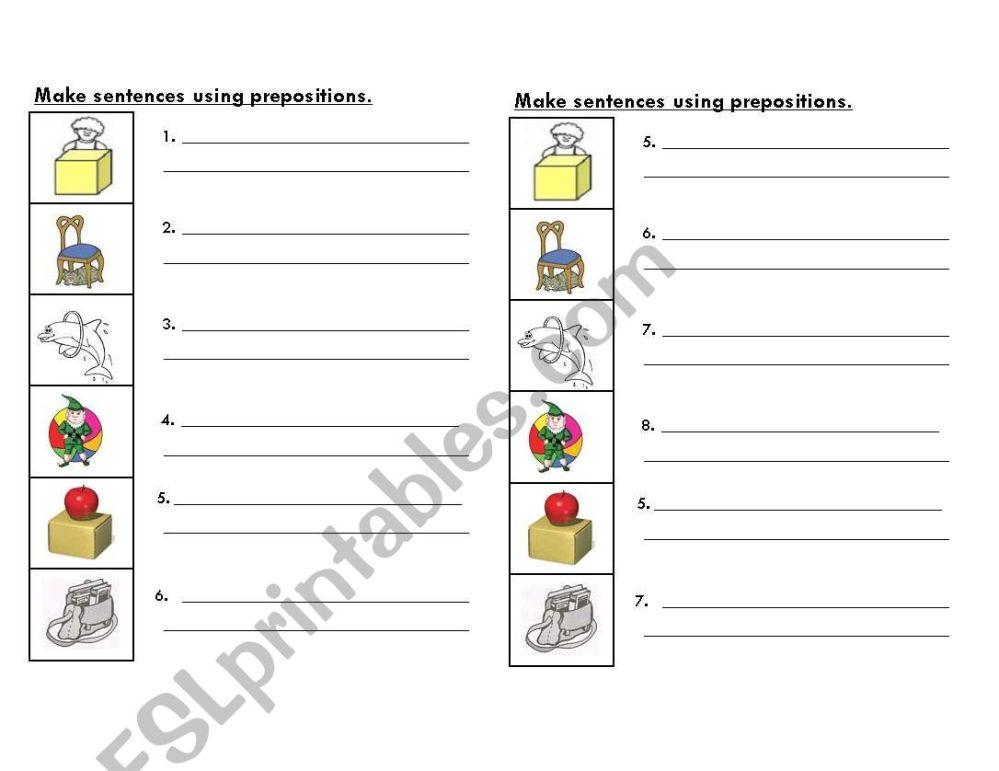 medium resolution of Esl Preposition Worksheet Paragraph   Printable Worksheets and Activities  for Teachers