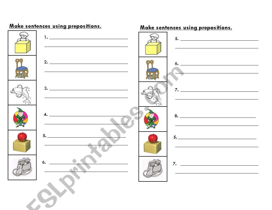 hight resolution of Esl Preposition Worksheet Paragraph   Printable Worksheets and Activities  for Teachers