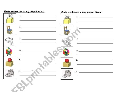 small resolution of Esl Preposition Worksheet Paragraph   Printable Worksheets and Activities  for Teachers