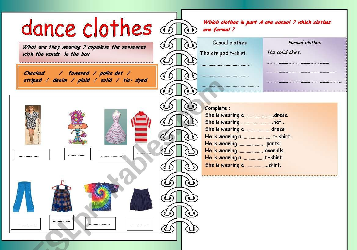 Which Kind Of Clothes Doyou Want To Wear
