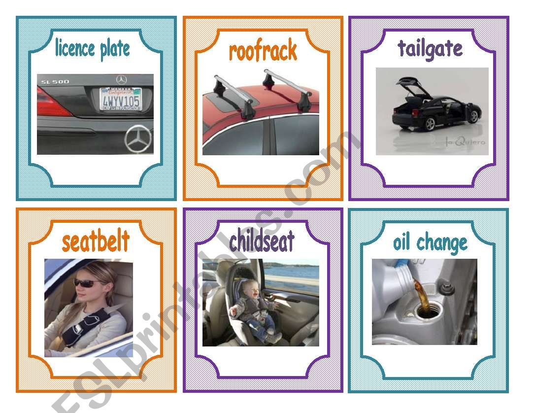 Car Flashcard Part 2 13 07
