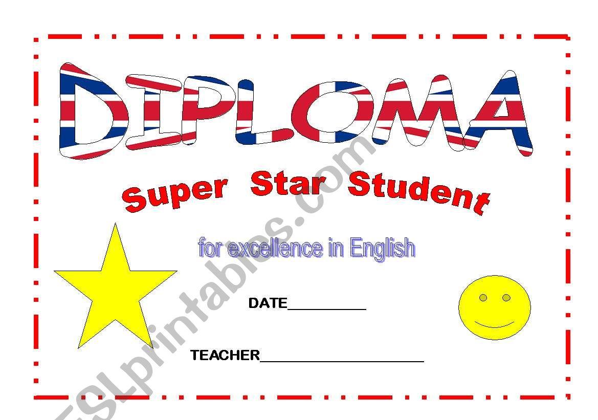 Diploma Super Student