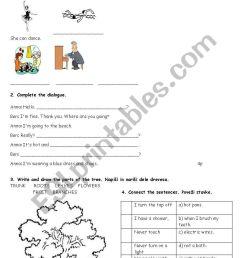 ENGLISH TEST 5TH GRADE - ESL worksheet by matejamotorola [ 1169 x 821 Pixel ]
