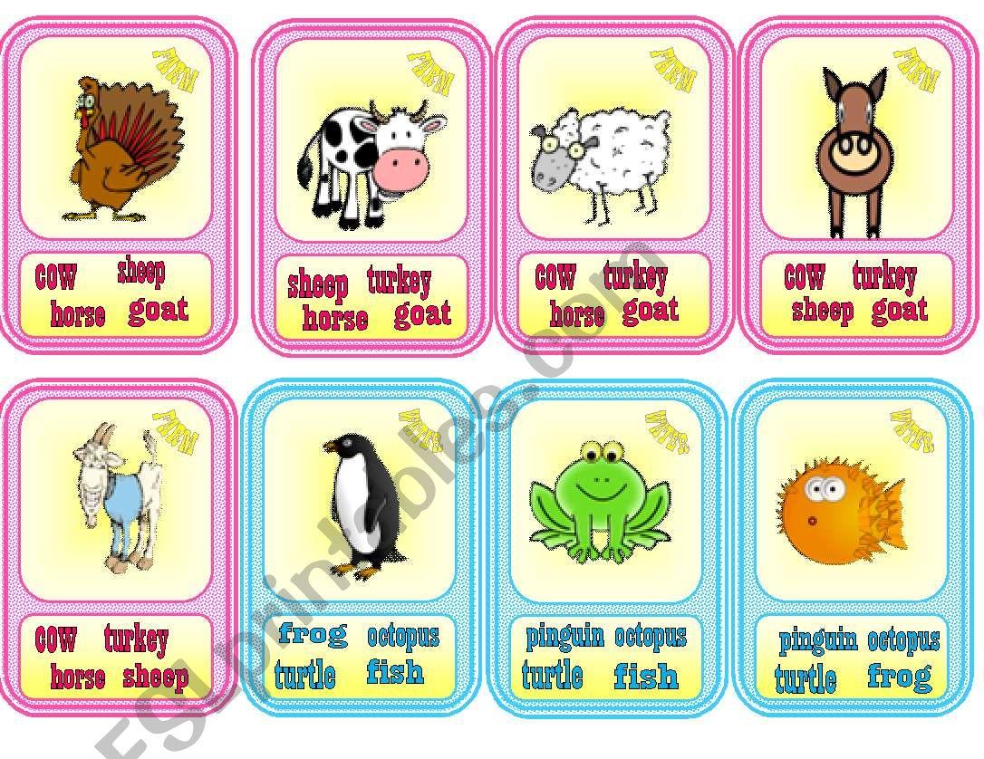 Happy Families Animals 1 2