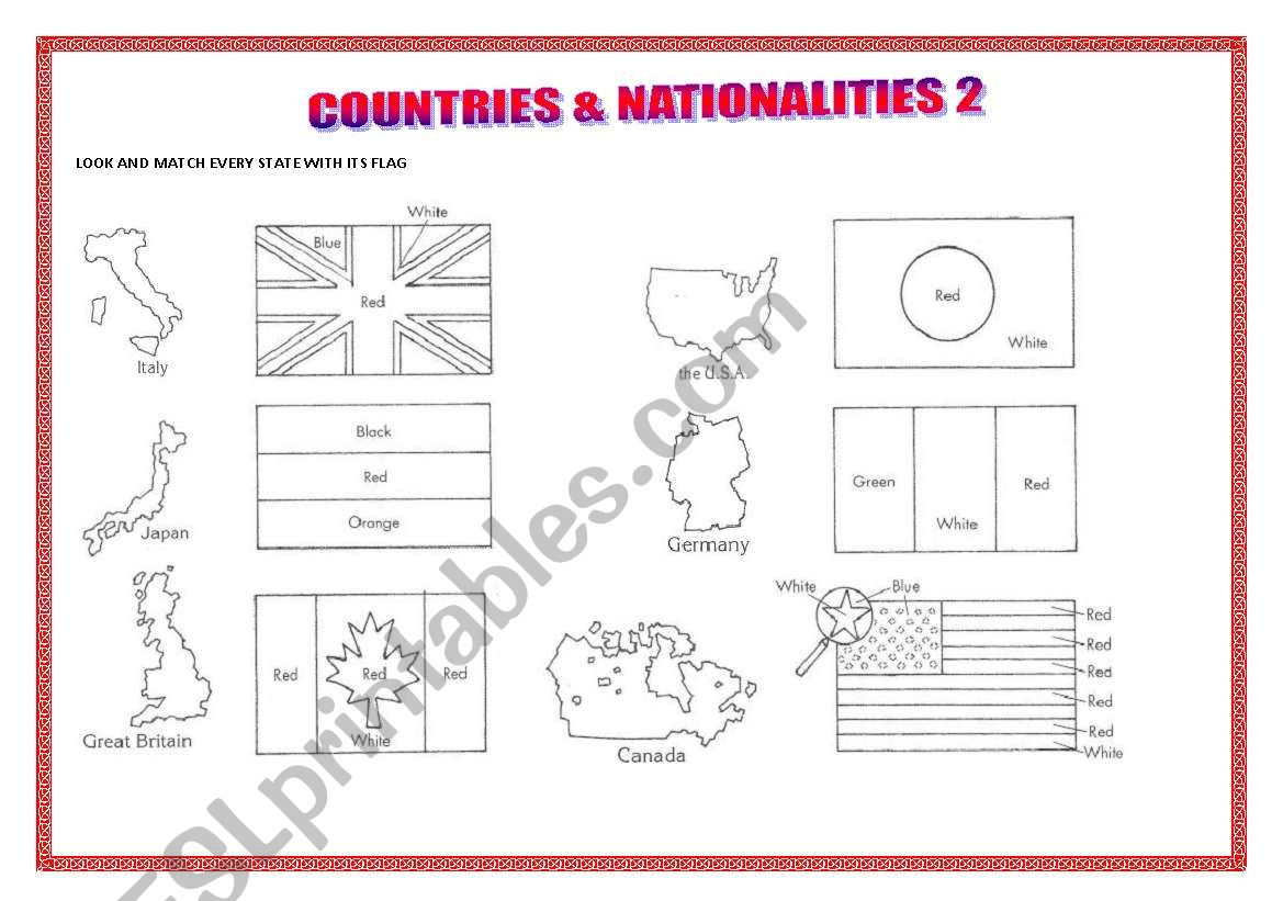 Countries Amp Nationalities 2