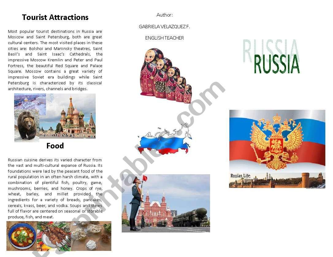 Russia S Brochure