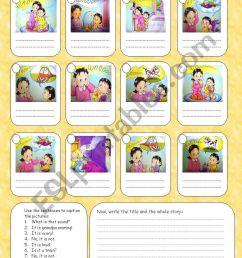 Sequence the story - ESL worksheet by Rumeisa [ 1169 x 821 Pixel ]