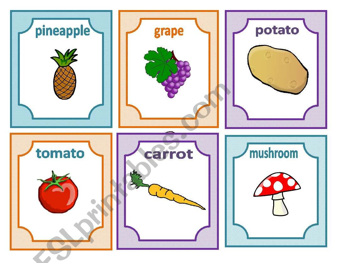 Fruit Vegetables And Food