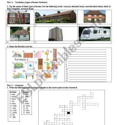 The House - ESL worksheet by WILSONCIRILOFERNANDES [ 1169 x 821 Pixel ]