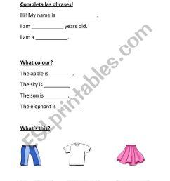 English worksheets: Test for 1.grade: Conversation [ 1169 x 821 Pixel ]