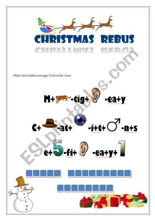 small resolution of Printable Rebus Puzzles - Bilscreen