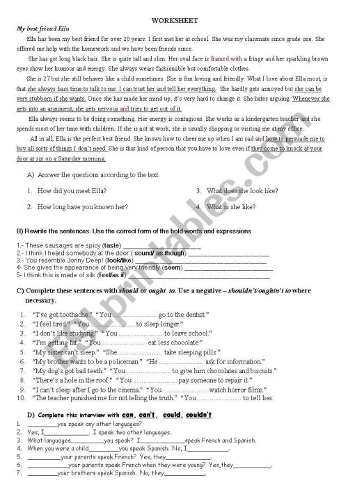 small resolution of Worksheet for Anatolian High School Grade 11 Students - ESL worksheet by  hakani60