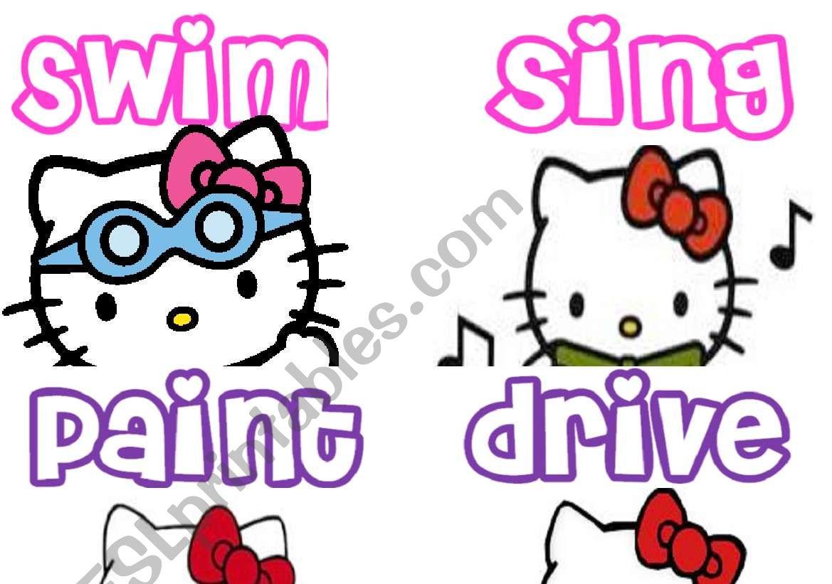 Actions Hello Kitty