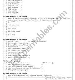 exercises for 7th grade - ESL worksheet by akkasemine [ 1169 x 821 Pixel ]