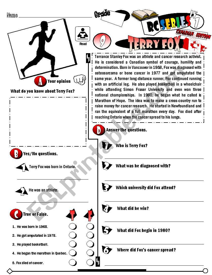 RC Series_Canadian Edition_09 Terry Fox (Fully Editable