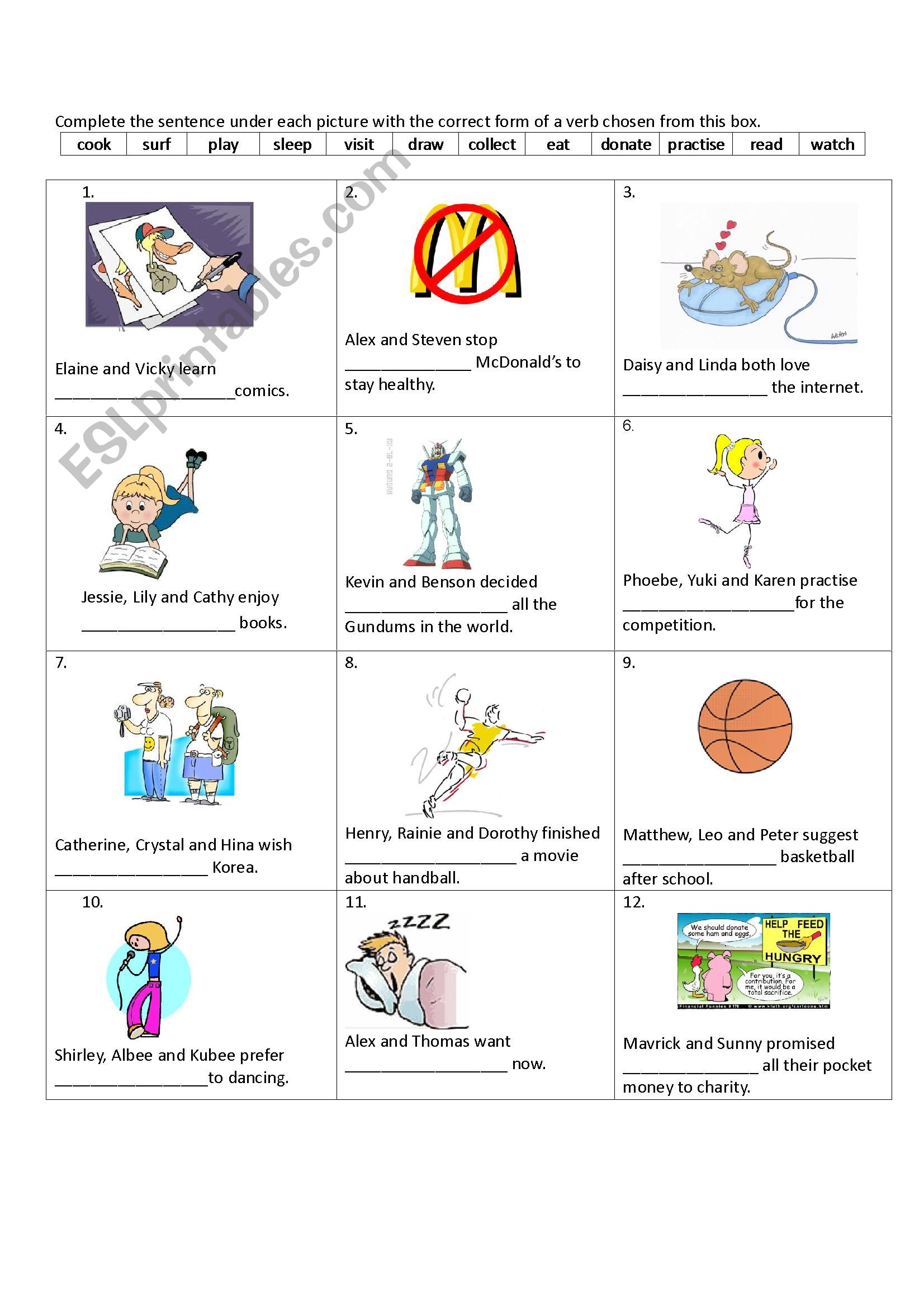 Verbs Followed By Gerund And To Infinitive