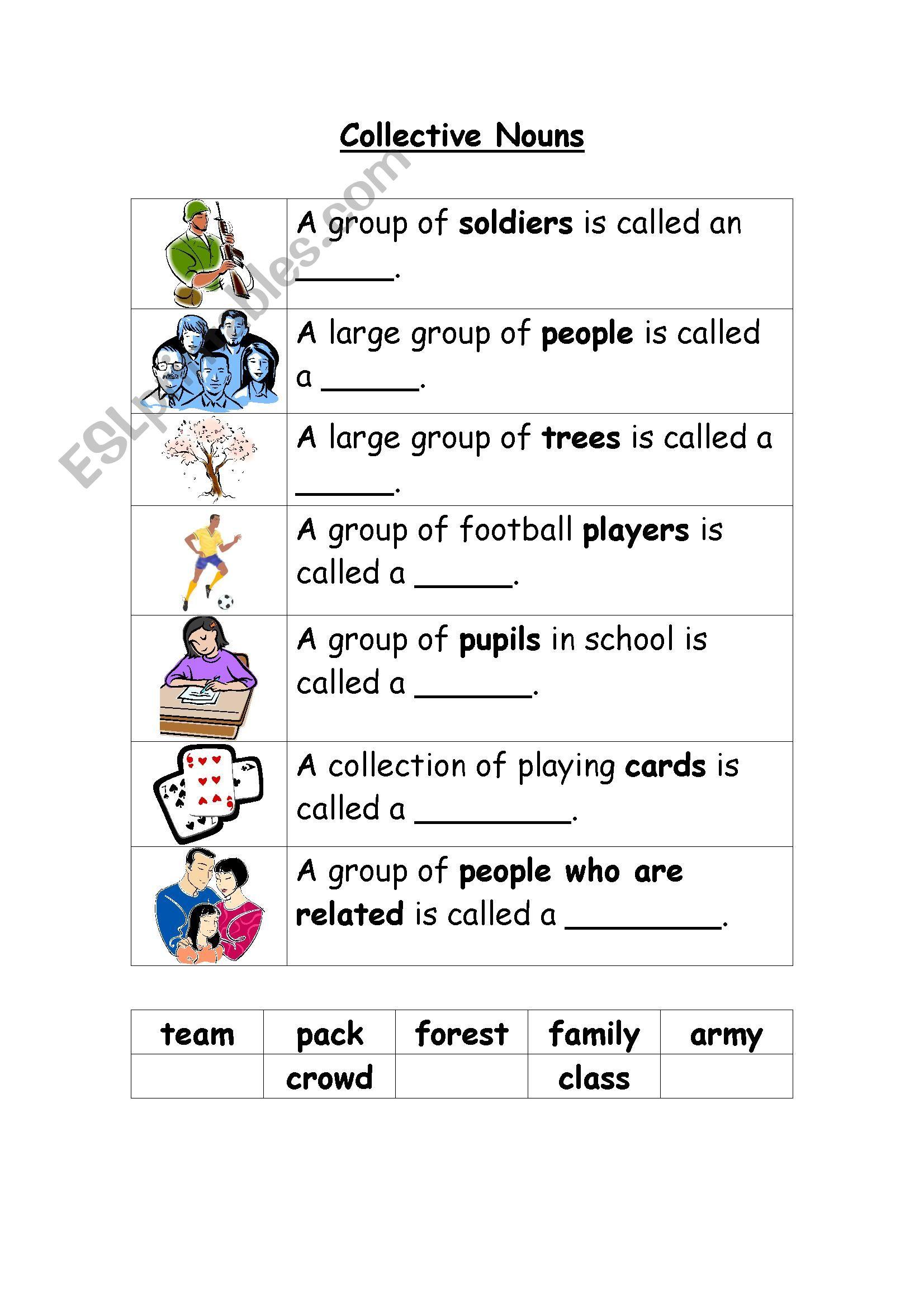 Colletive Nouns