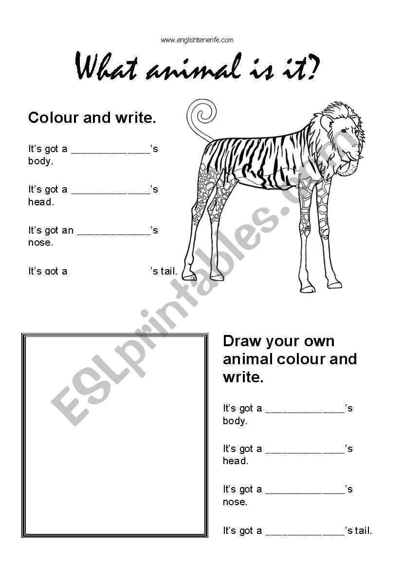 Adjectives To Describe Animals