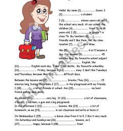 School - ESL worksheet by ilditoth [ 1169 x 826 Pixel ]