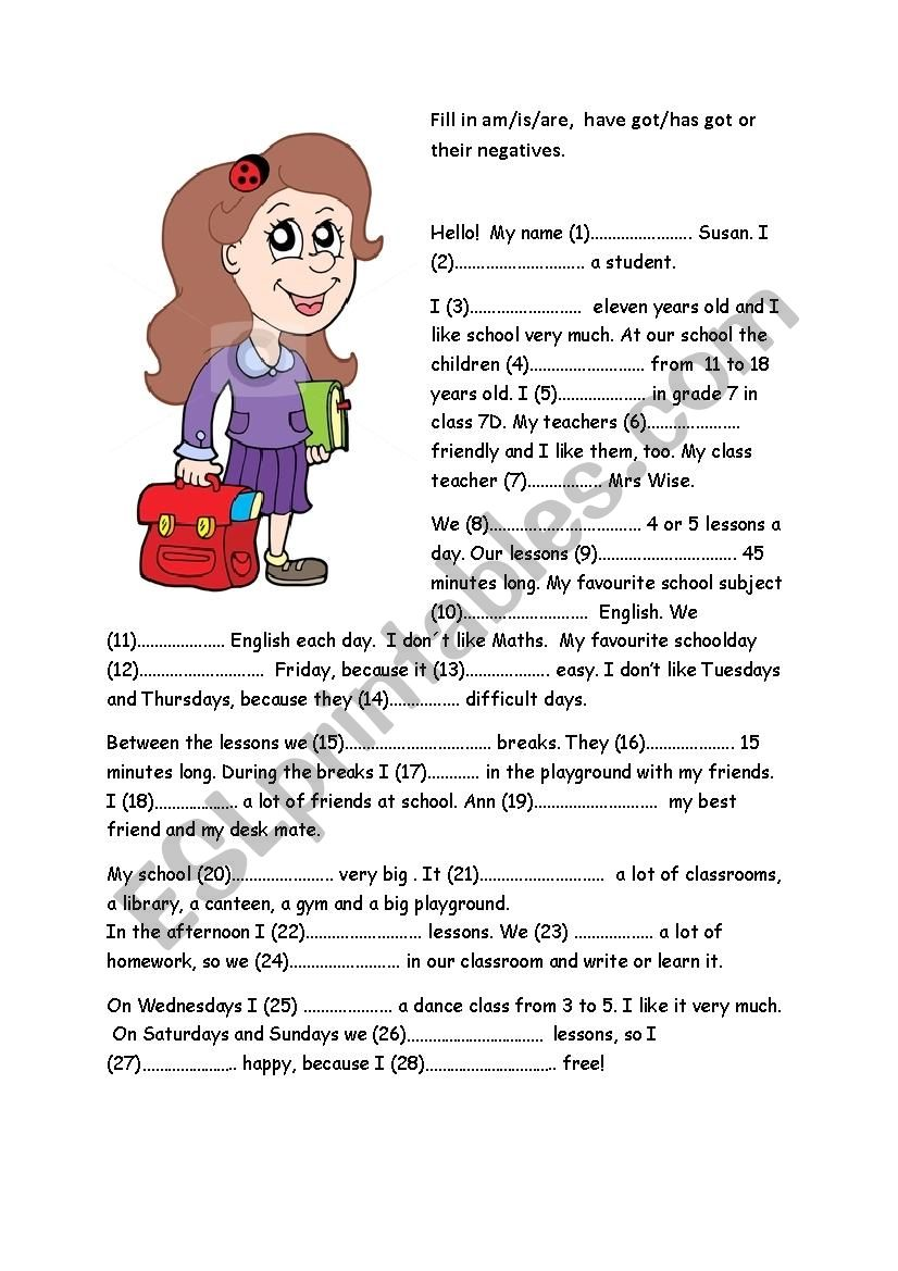 hight resolution of School - ESL worksheet by ilditoth