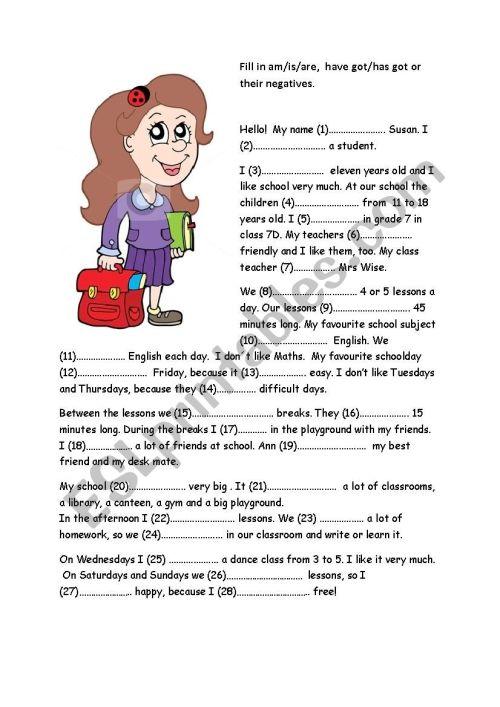 small resolution of School - ESL worksheet by ilditoth