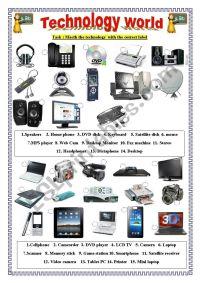 Modern Technologies - ESL worksheet by layt