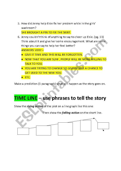 small resolution of Nothings Fair In Fifth Grade : Chapter Worksheet - ESL worksheet by kentrot