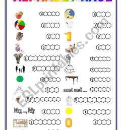 Alphabet race - kids grade 2 - ESL worksheet by pawag [ 1169 x 826 Pixel ]