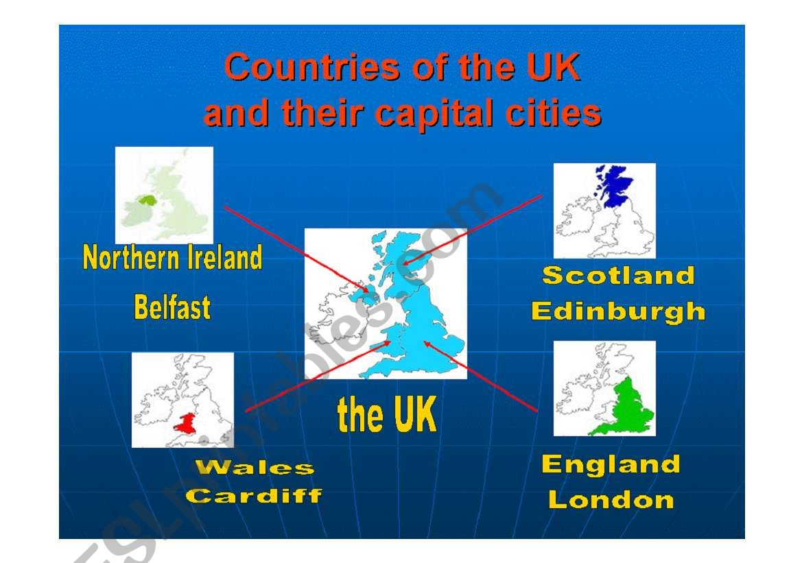 Countries Of The Uk
