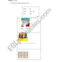 plural nouns - ESL worksheet by pao-m-g [ 1169 x 826 Pixel ]