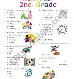 2nd Grade Final Exam #2 - ESL worksheet by Rhae [ 1169 x 826 Pixel ]