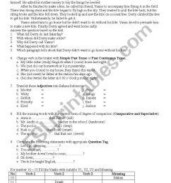 exam for 8th grade - ESL worksheet by rahman.dhika [ 1169 x 826 Pixel ]