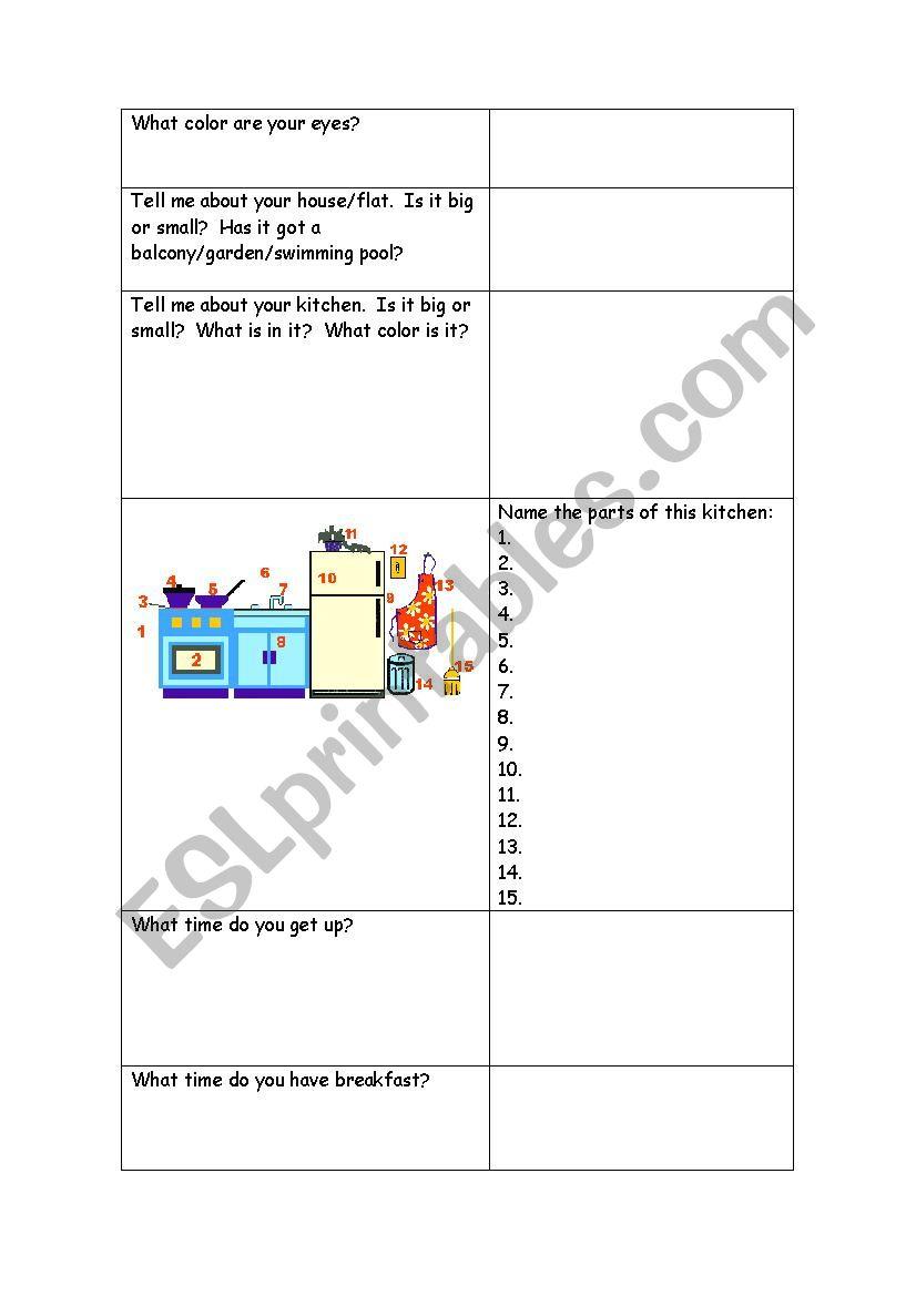 hight resolution of TRINITY GRADE 2 ORAL EXAM PART 2 - ESL worksheet by teacheralqueria