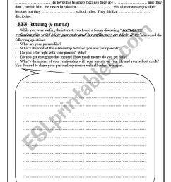 List Of School Rules In French - School Style [ 1169 x 826 Pixel ]