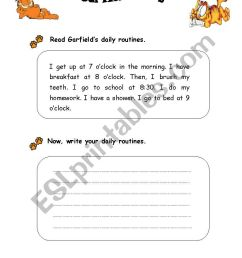 Writing Activity for 5th Grade - ESL worksheet by chitarra [ 1169 x 826 Pixel ]