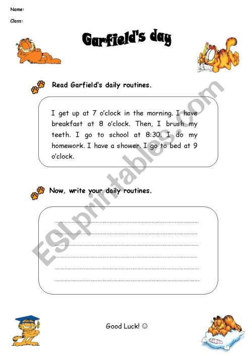 small resolution of Writing Activity for 5th Grade - ESL worksheet by chitarra