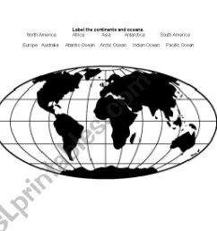 31 Label Continents And Oceans - Labels Database 2020 [ 821 x 1169 Pixel ]