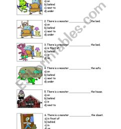 prepositions - ESL worksheet by cathypin [ 1389 x 838 Pixel ]