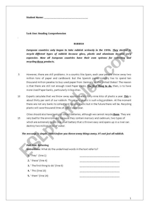 small resolution of REVISION WORKSHEET FOR GRADE 8 - ESL worksheet by nilaykaynakci