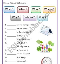 WH - questions (English for beginners) - ESL worksheet by lucak (F) [ 1169 x 821 Pixel ]