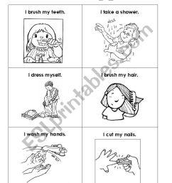 Personal Hygiene - ESL worksheet by silmg [ 1169 x 826 Pixel ]