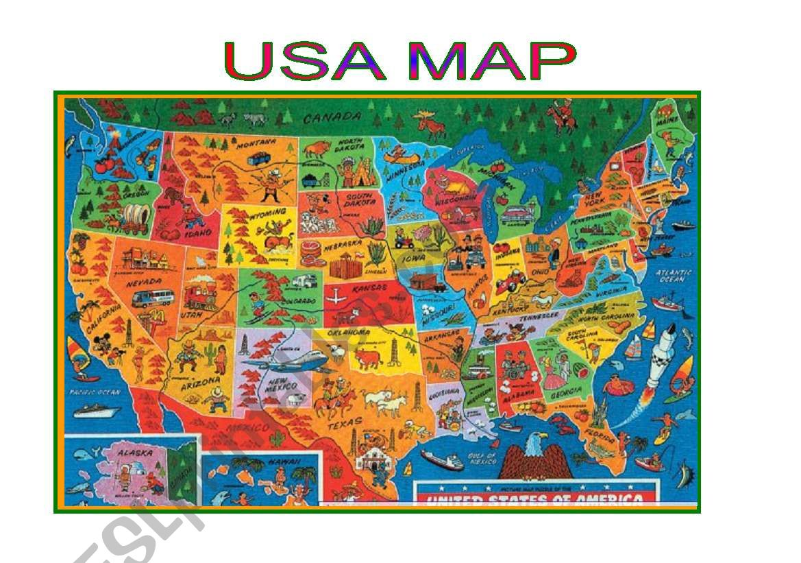 Maps Usa Map