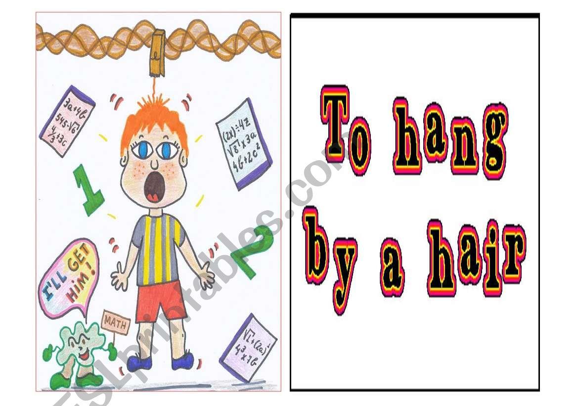 Idioms Exercises Worksheet