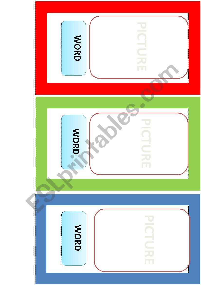 Flascard Template