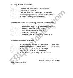 English worksheets: Interrogative pronouns [ 1169 x 821 Pixel ]