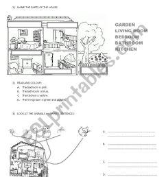 3RD GRADE TEST - ESL worksheet by miss_alejandra [ 1169 x 826 Pixel ]