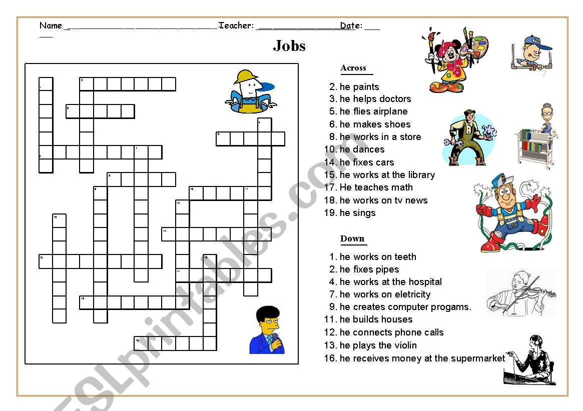 Jobs Puzzle