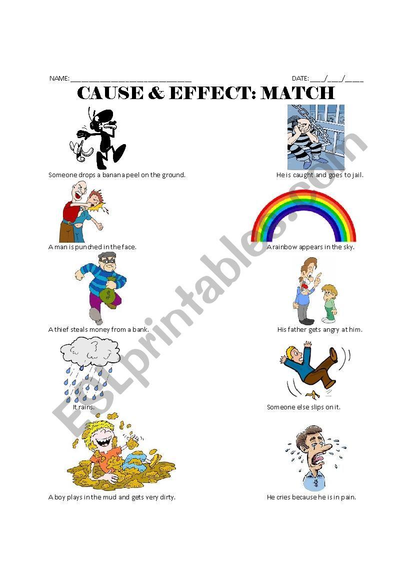 Cause Amp Effect Match